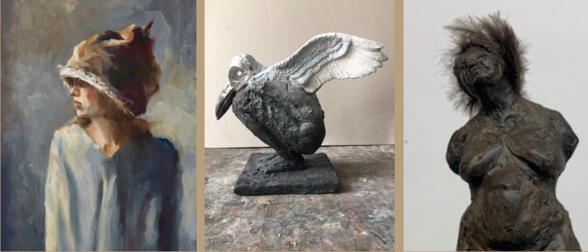 Opening expositie Judith de Dreu en Cindy Sprokel op vrijdag 26 april, 16.00 uur in de Kunsthal Slochteren